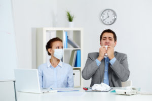 Fighting The Flu Season With Professional Office Cleaning