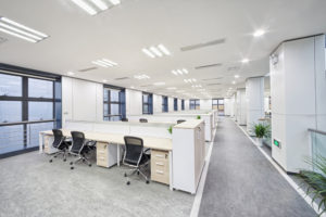 A Clean Environment increases productivity at the workplace