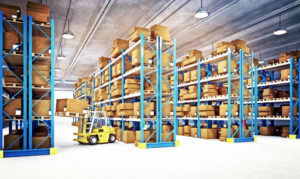 professional warehouse cleaning
